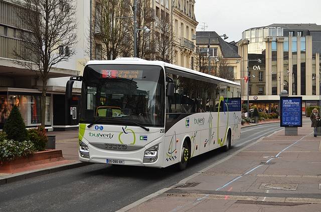 Photos des Courriers Normands et Bus Verts - Page 4 645258bvcalcross2680