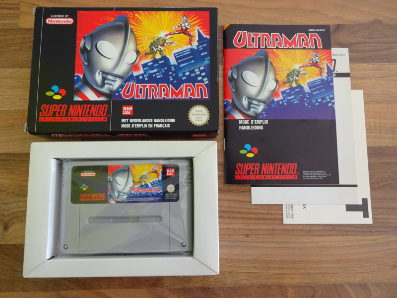 Prupru's Collection ! 100% Super Nintendo et 200% Super Comboy !! - Page 18 646019UltramanFAH