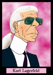 Caricatures 646732Lagerfeld