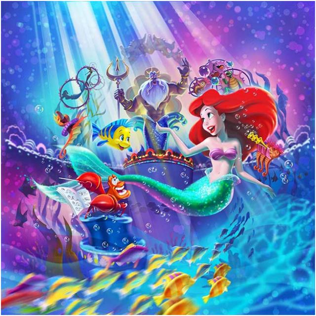 [Tokyo DisneySea] Nouveau spectacle : King Triton's Concert (24 avril 2015) 647098crt1