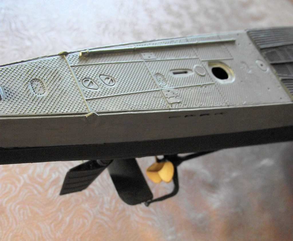 U Boot type IX 1/72 revell 647930UbootRevell1x7215