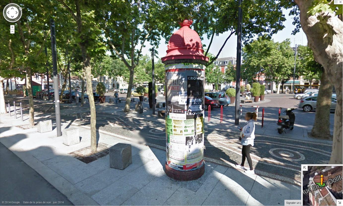 Les colonnes Morris en France 648692colonnemorrisMulhouse6