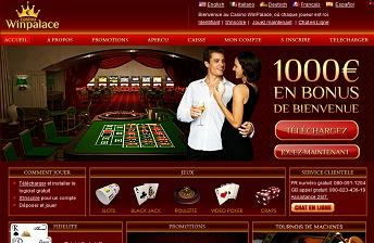 Vignette du casino en ligne Winpalace