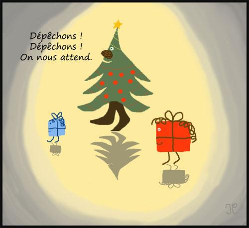 Au clair de lune en décembre.(Dessin-humour) 649501Dcembreauclairdelunew