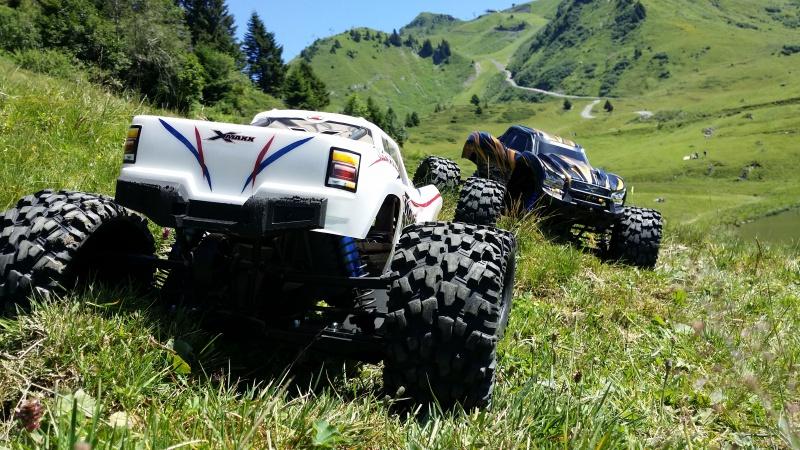 Mes x-maxx en vacances dans les Alpes. 64974120160807123528