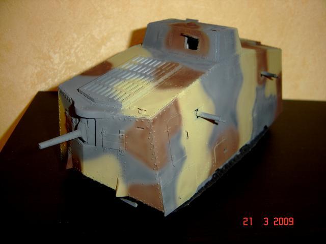 A7V [TAURO MODEL 1/35e] Le premier Panzer 650166A7V_peinture_et_vieillissement_007