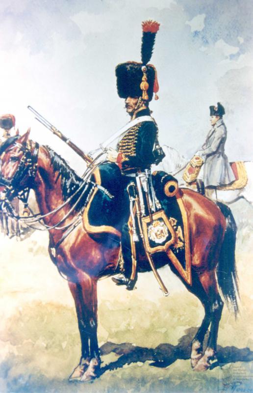 Les chasseurs à cheval de la Garde 652835CCGI10