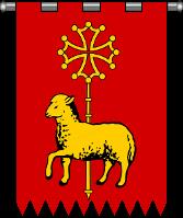 [Seigneurie de Blagnac] Aussonne  653756Oriflammeaussonne