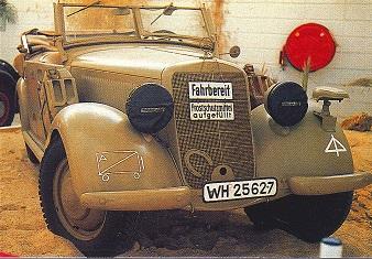 Mercedes 170 et 220. La renaissance 654317170exwehrmacht