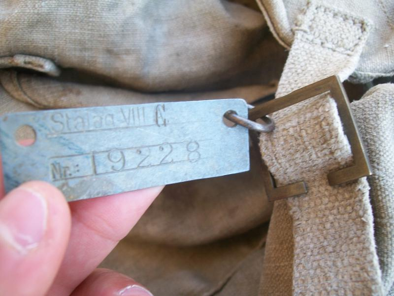 Le matériel et l'uniforme des prisonniers de guerre 6543271002155
