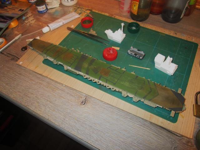 Réaliser une peinture fatigué.  -> Zuikaku 1/700 655520IMG0545