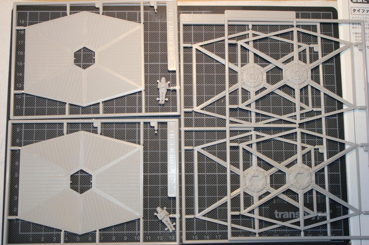 Star Wars [Tie Fighter] Fine Molds 1 : 72 656123DPP1103