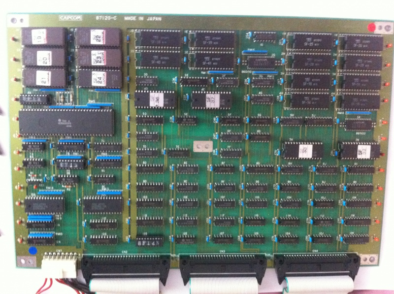 [ Pcb CAPCOM ] Pre-cps - CPS1 - CPS Q-Sound - Page 2 658796IMG06761