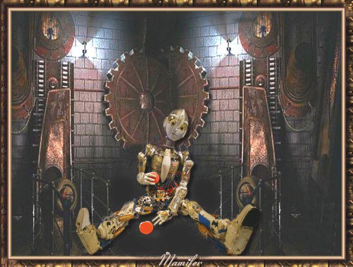 Le robot  jouant à la balle rouge  660270Sanstitre9