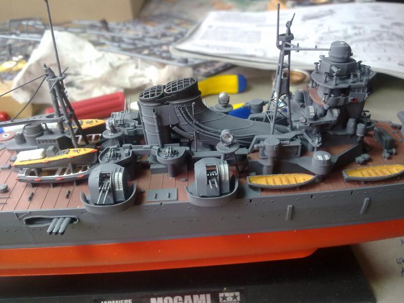 croiseur lourd Mogami au 1/350 par Pascal 94 - Tamiya  - Page 6 66028605122010970