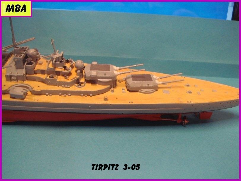 Le TIRPITZ au 1/700ème - DRAGON - Page 2 661873Tirpitz305