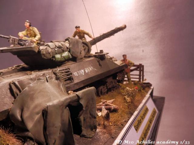 dio un achilles en Normandie terminé académy 1/35,figurines miniart 662682PA070006