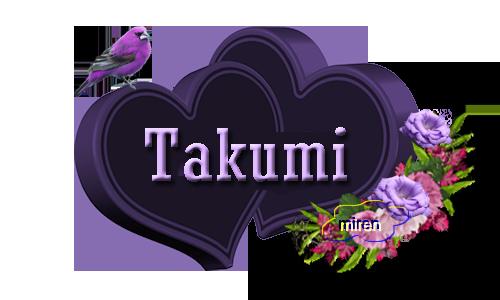 Nombres con T 6630731Takumi