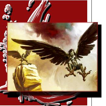 Bestiaire: Les créatures de la Grèce antique, entre Fantastique et réalité. 666690harpies