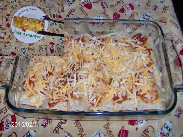 Enchiladas au poulet . 670304Enchiladasaupoulet