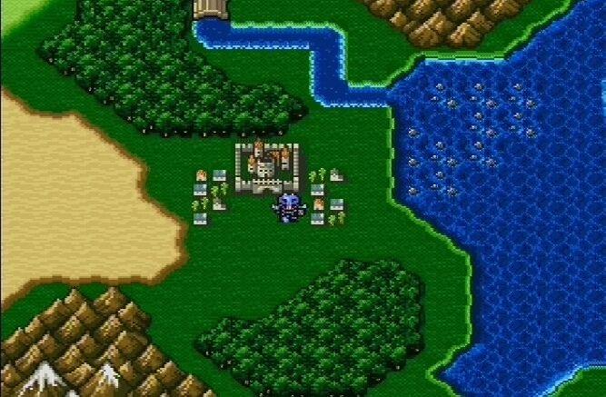 Final Fantasy IV 670627finalfantasyanthologyplaystationps1035