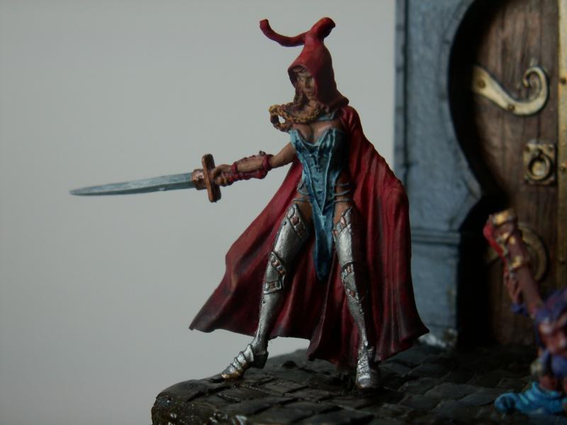 Isabeau la secréte et son porte épée. Marque Rackham 28 Mm 673404PICT0024