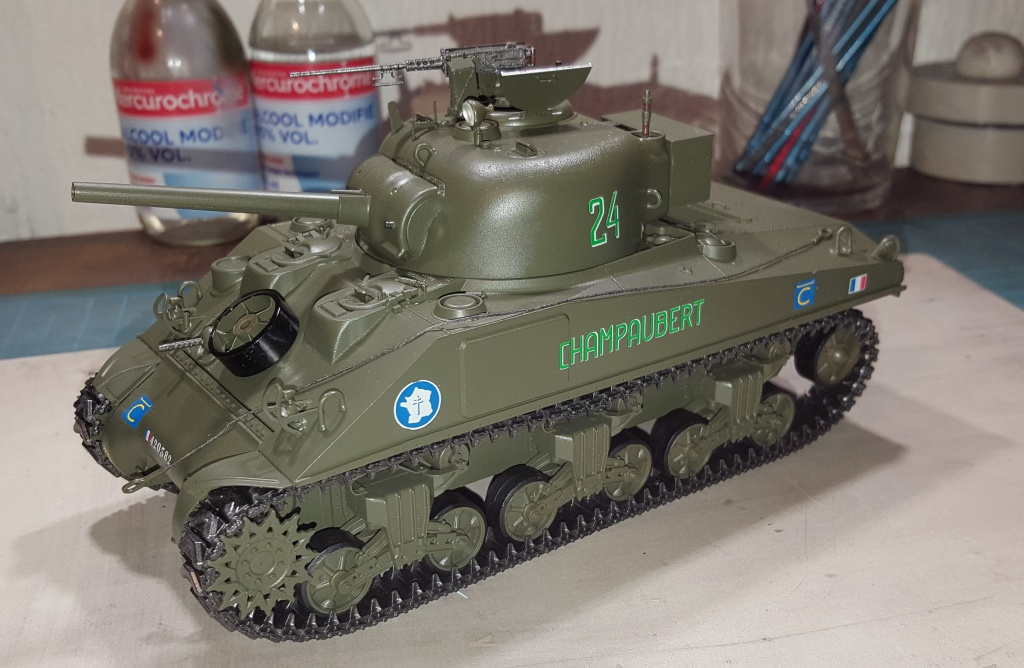 Sherman 1/35ème  Asuka models 67378120170312232738