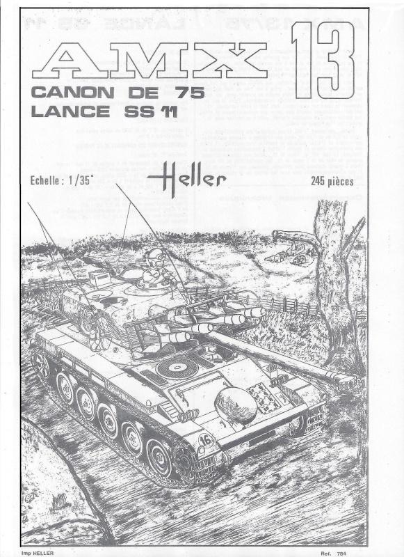 AMX 13 canon de 75 - (Réf. L784) 1/35 677510AMX1375784002Heller135
