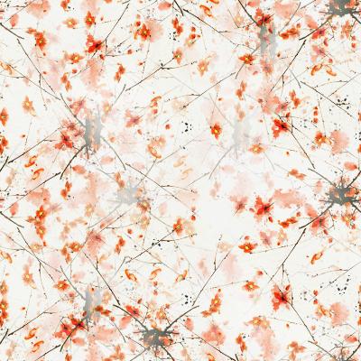 Patterns de Rowie 677557Aquarellerougefleuretbranche