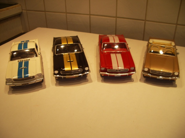 mustang shelby 350 GT 1965  kit monogram 1/24 . 678124IMGP3081