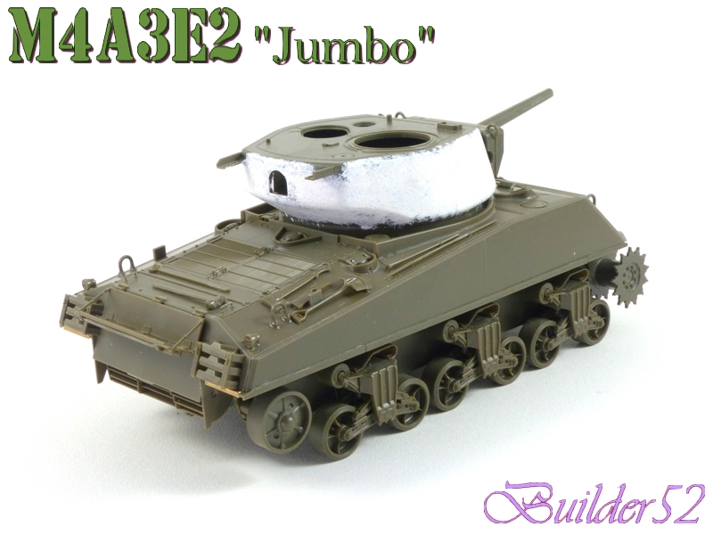 SHERMAN M4A3E2 JUMBO - TASCA 1/35 678268P1050217
