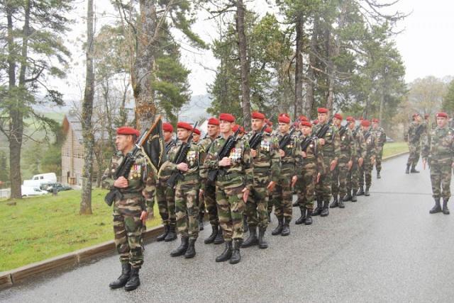 70e anniversaire de la création du 1er CHOC en Algérie française 681767065D1