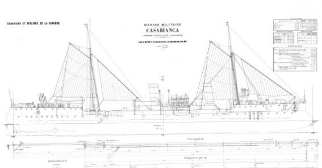 AVISO-TORPILLEUR CASABIANCA (1895) 681805casabianca1898