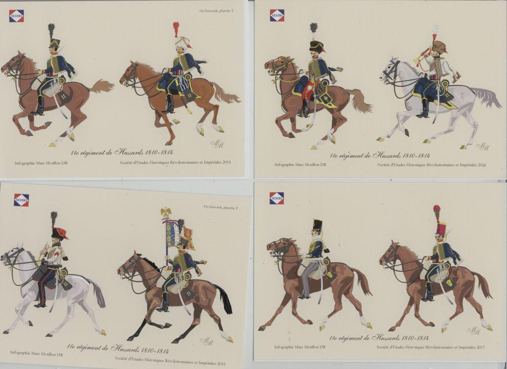 les séries de cartes postales uniformologiques de la SEHRI 682010scan11ehds