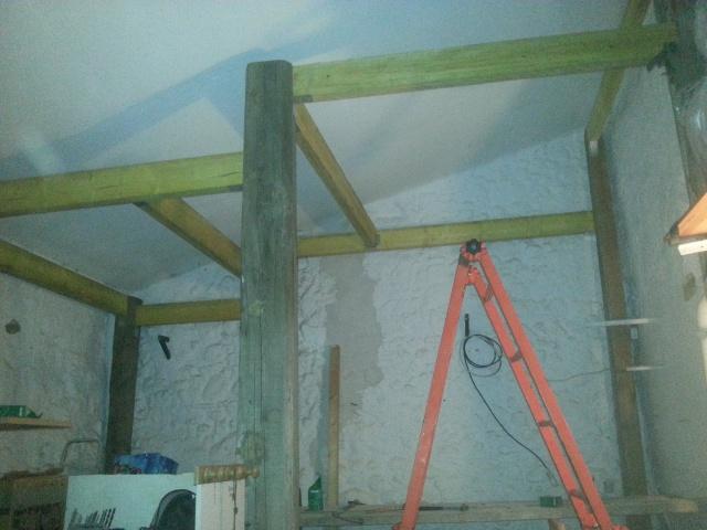 La construction de mon bloc dans le garage 6837691614