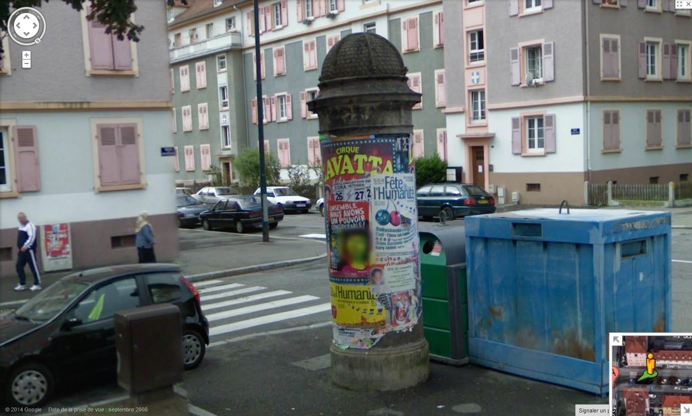 Les colonnes Morris en France 685340colonnemorrisMulhouse10