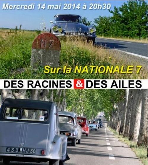 Des Racines et des Ailes Routes de France, Routes des Vacances 685472Nationale7