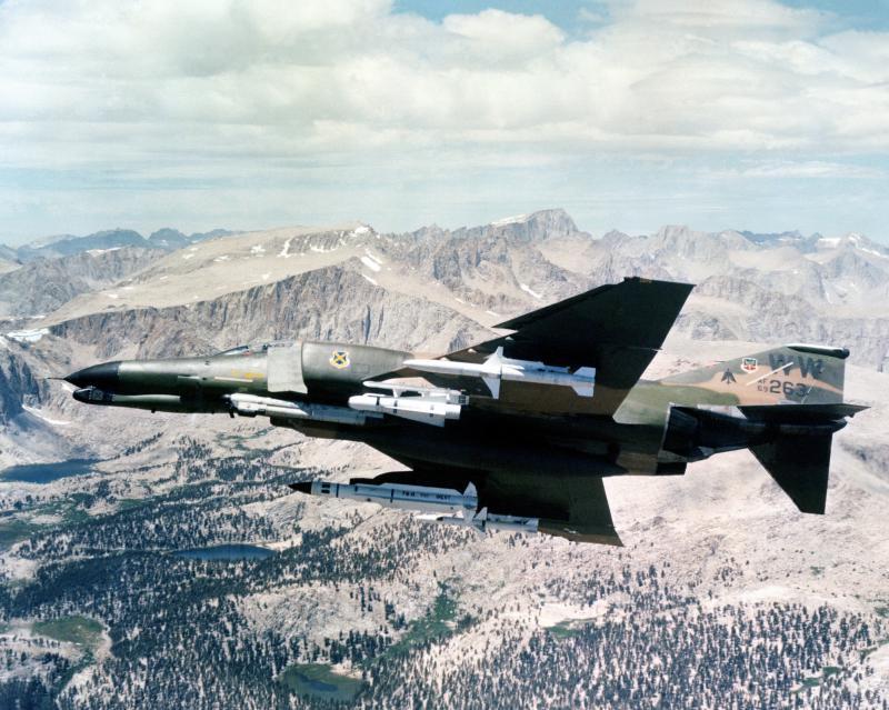 BOEING F/A-18E et F SUPER HORNET  685593F4GPhantomIIWildWeasel