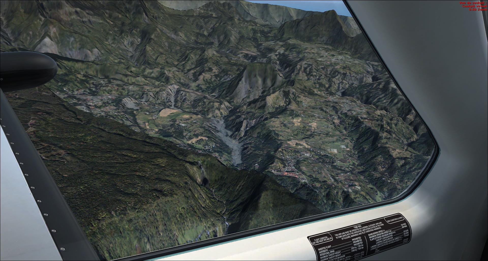 Survol de l'Ile de la Réunion 6856222014829215628548