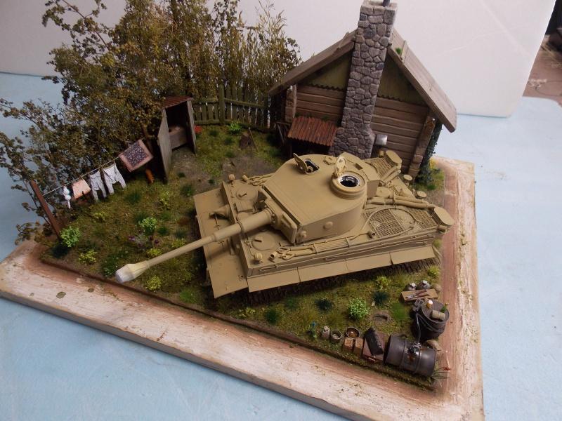 TIGRE S33  avant la bataille de Koursk juillet 43 (Dragon 1/35 dio DIODUMP) - Page 5 689300DSCN4645