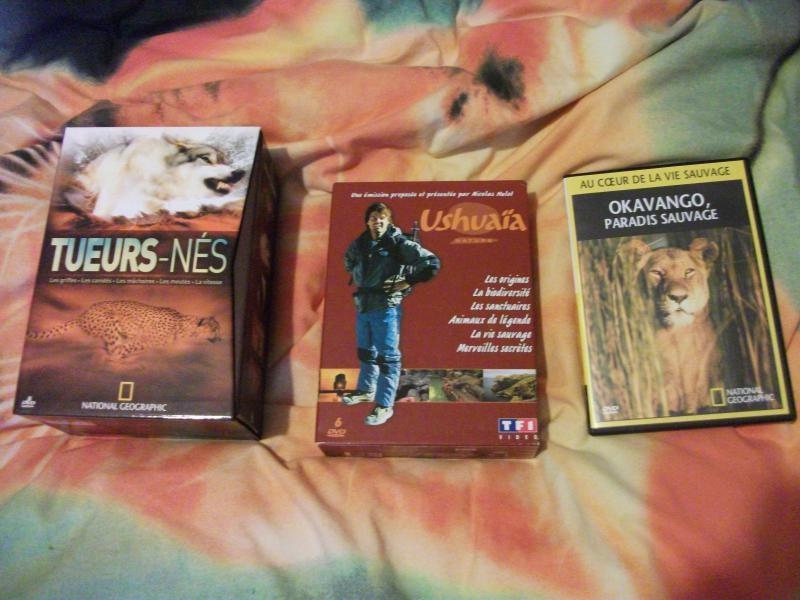 DVD documentaires, films animaliers... - Page 3 690327DSCF7100