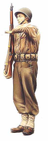 Brigadier, 2ème division marocaine, 1945 690553fantassinfrancais5_v