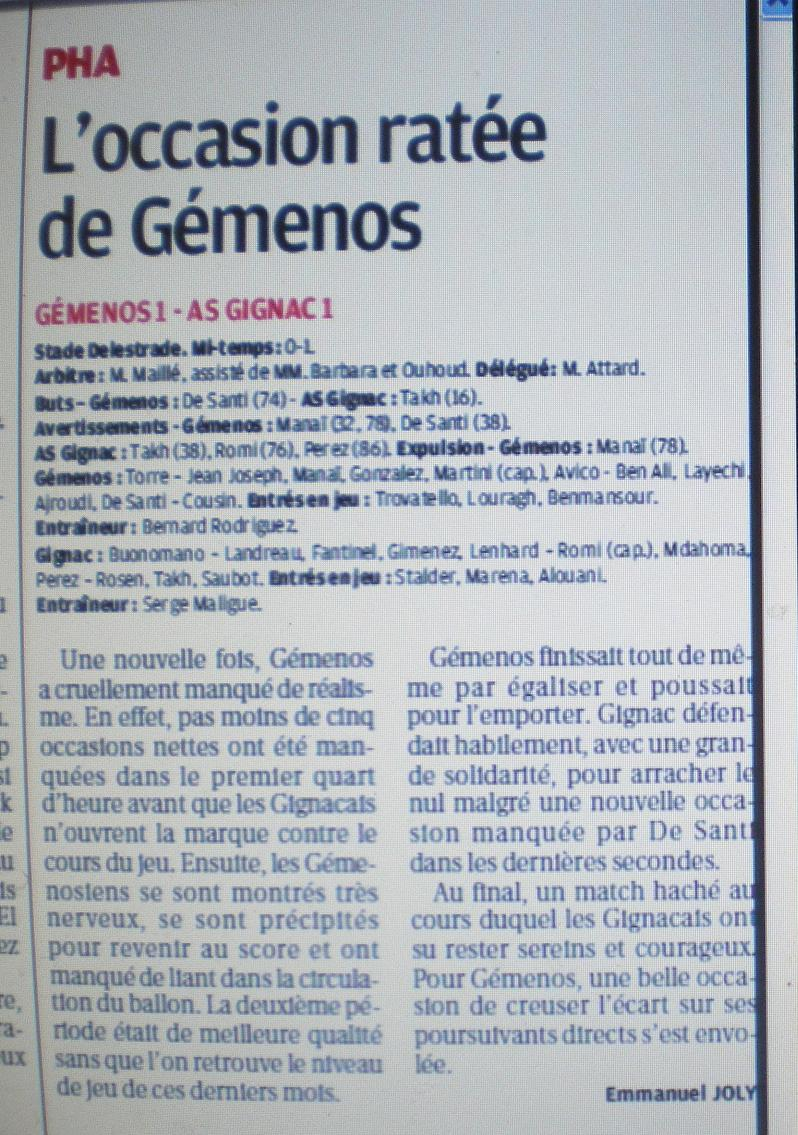 AS GIGNAC LA NERTHE //  DHR MEDITERRANEE  PROVENCE  - Page 2 697513IMGP5536