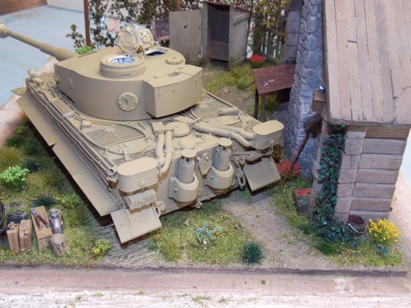 TIGRE S33  avant la bataille de Koursk juillet 43 (Dragon 1/35 dio DIODUMP) - Page 5 697617DSCN4650