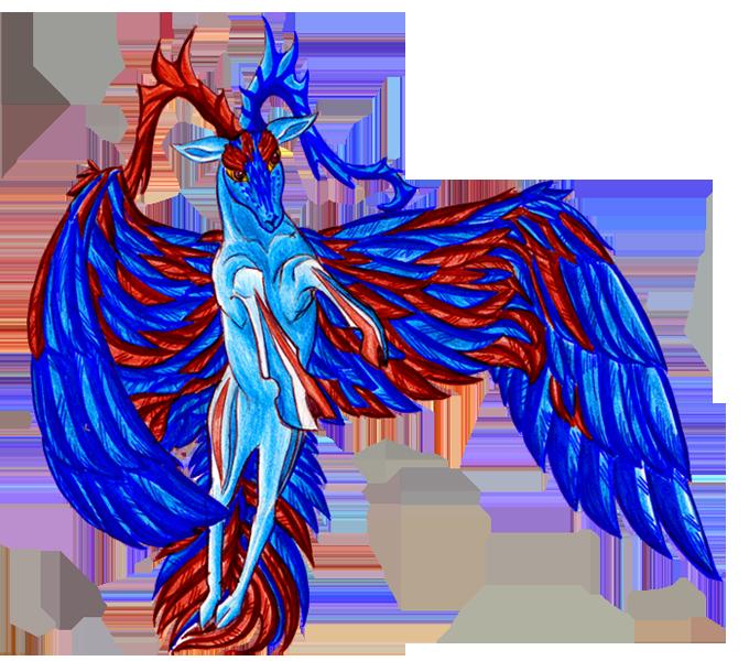 Dragons, chimères et créatures arc-en-ciel 698094Cerfvolant