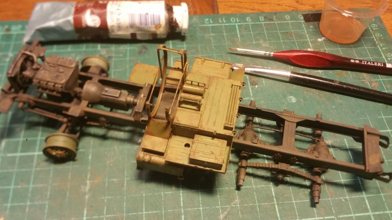 BM-21 GRAD 1/35 TRUMPETER 70025020161106165501