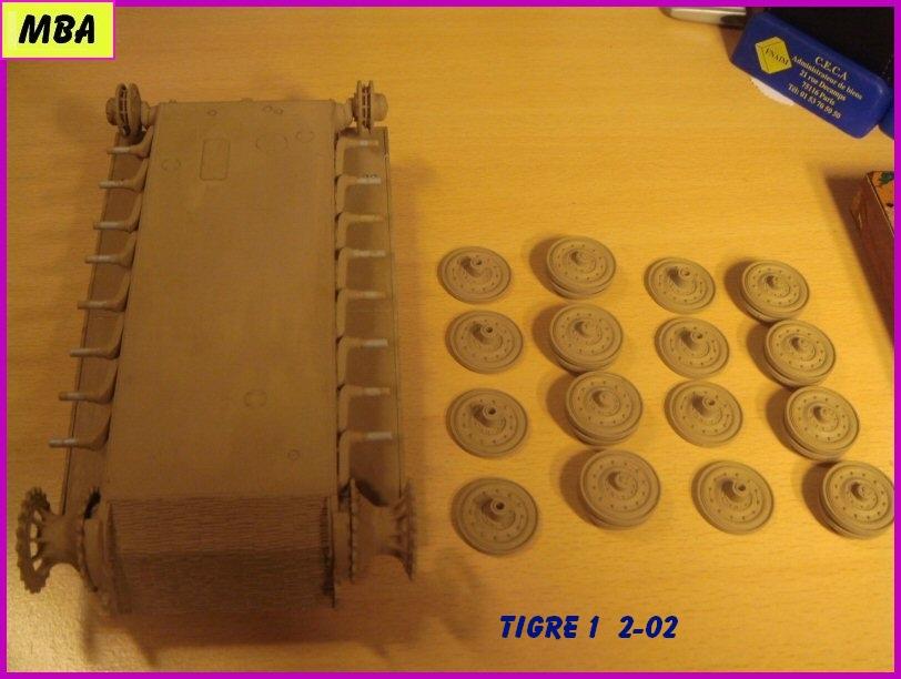 Panzerkampfwagen VI Tiger au 1/35ème Dragon Zimmerit 700254tigre202