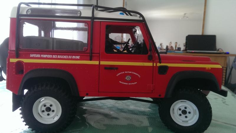 Defender 90 VLTT 'sapeurs pompiers des bouches du rhone - Page 5 700727IMAG21653
