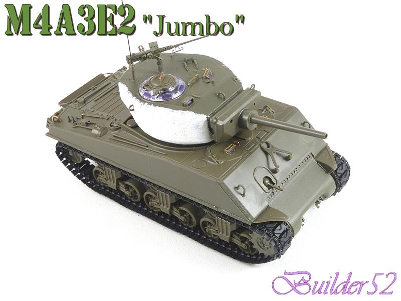 SHERMAN M4A3E2 JUMBO - TASCA 1/35 701136P1050235