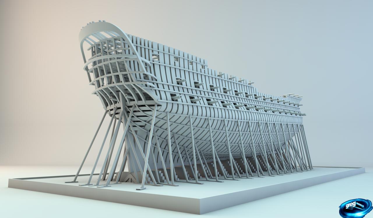 Etapes de construction 3D d'un navire de 74 canons. - Page 8 703067Navire74canonsR16canons1